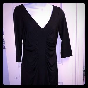 Women's Size S Polyester Dress; Black
